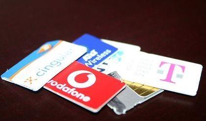 Imagen de la semana: pila de tarjetas SIM
