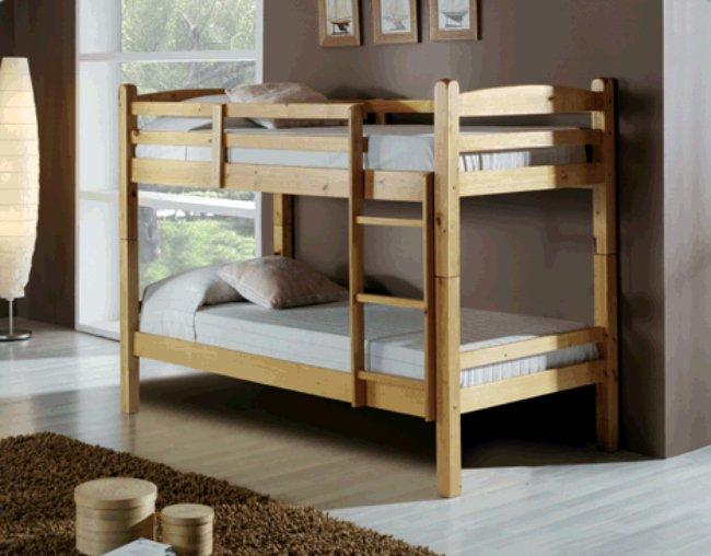 Cinco literas de diferentes precios for Precios de camas infantiles