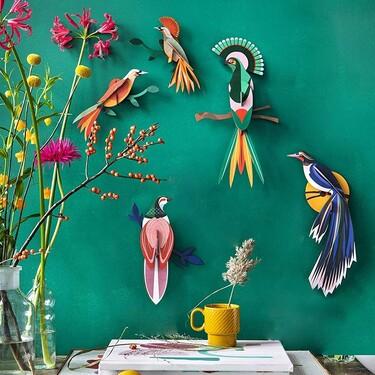Espejos, láminas y otros objetos deco muy resultones para renovar tus paredes por muy poco dinero
