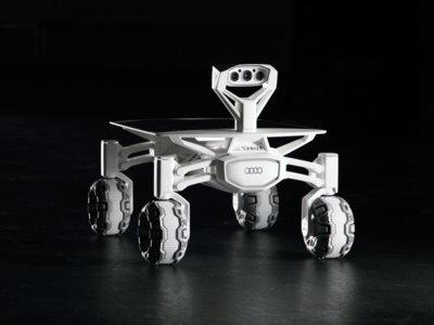 Audi quiere llegar a la luna con este vehículo que probarán en Tenerife