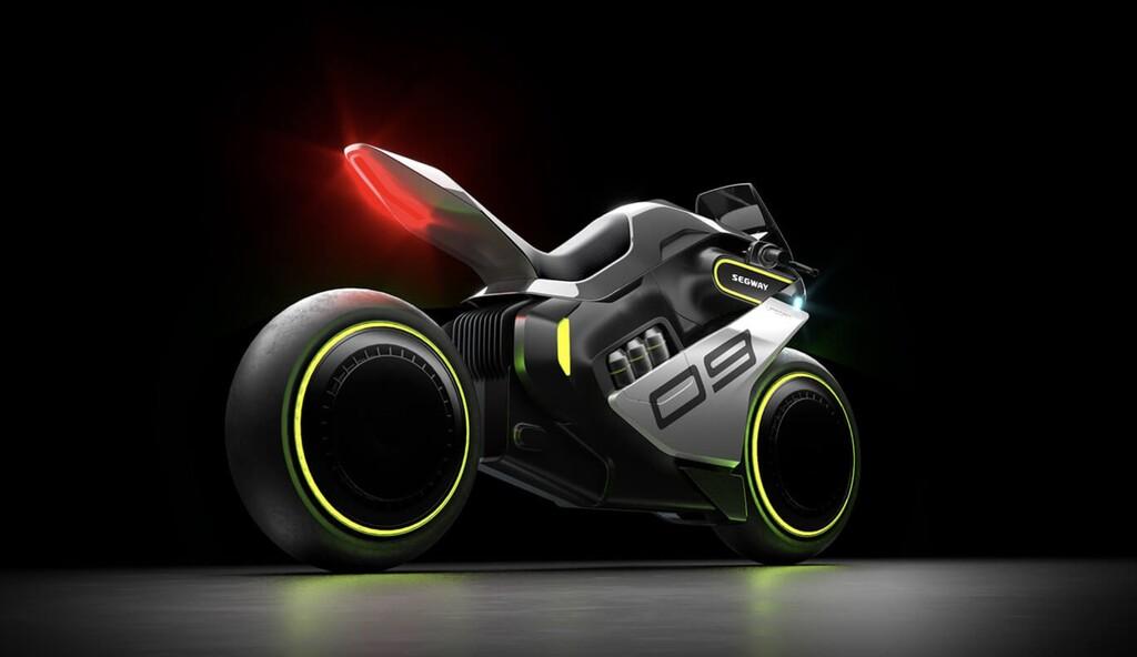 Apex H2, así es la moto más futurista de Segway con pila de combustible de hidrógeno