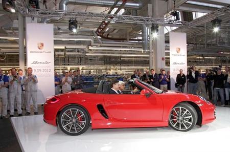 El Porsche Boxster amplía su producción en Volkswagen Osnabrück