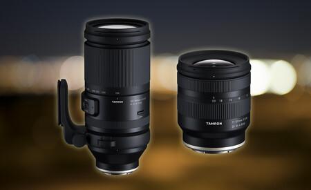 Tamron 11-20mm F/2.8 Di III-A RXD y 150-500mm F/5-6.7 Di III VC VXD, nuevas ópticas para mirrorless APS-C y FF con montura Sony E