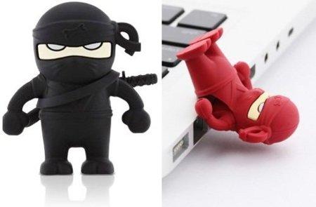 Memoria USB ninja... cuida tus datos