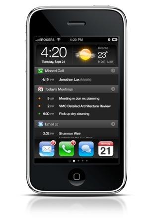 Un diseño para mejorar la pantalla de inicio del iPhone