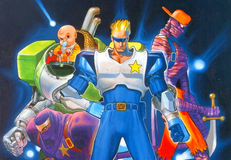 Retroanálisis de Captain Commando, otro de los beat 'em up estrella de Capcom en los 90