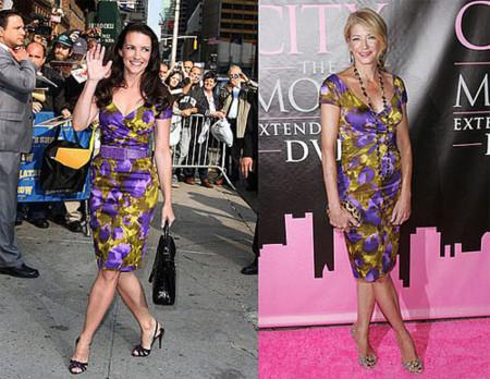 Vestido floral de Michael Kors: ¿Kristin o Candance?