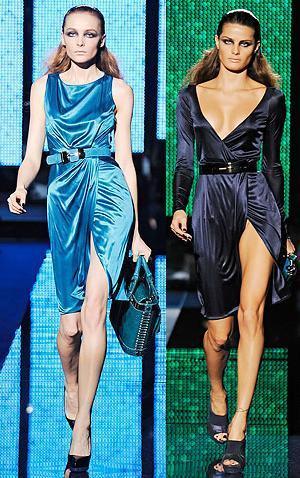 Versace Otoño-Invierno 2009/2010 en la Semana de la Moda de Milan
