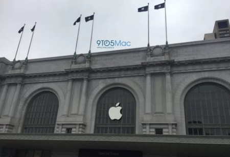 El centro cívico Bill Graham empieza a engalanarse para la keynote de Apple