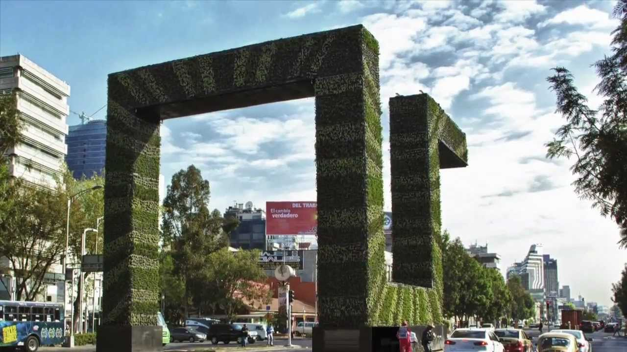 M xico df instalar futuristas jardines verticales for Jardines verticales mexico