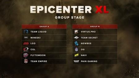 Anunciados los grupos para el Major EPICENTER XL de Dota 2
