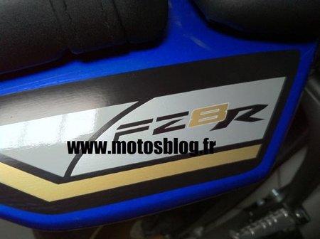 Yamaha FZ8R, ya es realidad pero todavía no la han desvelado por completo