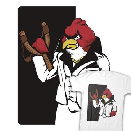 Camiseta Scarface Angry Bird