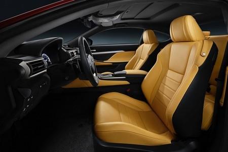 Lexus RC Coupé tapizados