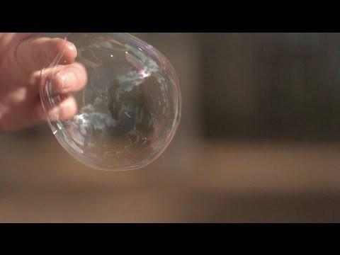 Cómo realizar slow-motion de pompas de jabón explotando