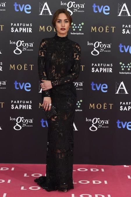 Megan Montaner Look Goyas 2015