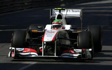 GP de Mónaco F1 2011: accidente grave de Sergio Pérez