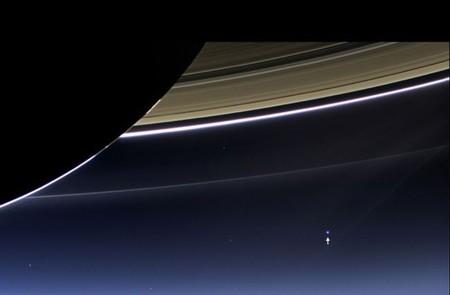 [Vídeo] Mirando la Tierra desde Saturno, cortesía de Cassini