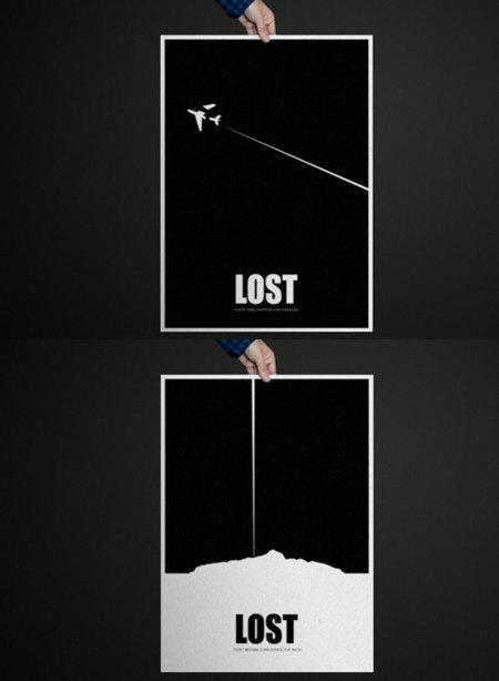 Posters LOST de Ponigordo