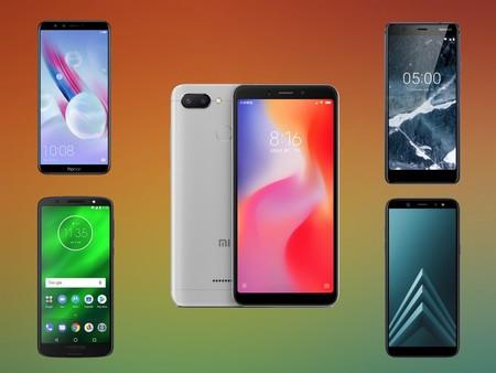 Xiaomi Redmi 6, comparativa: así queda frente al Moto G6, Honor 9 Lite, Nokia 5.1 y el resto de gama económica Android