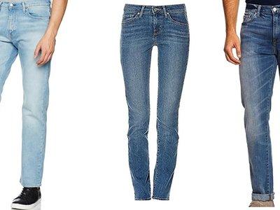 Atención: descuentos en 42 modelos de pantalones Levi`s sólo hoy hasta medianoche en Amazon