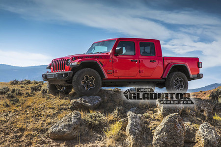 Jeep Wrangler pick-up Gladiator