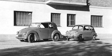 Así era el DAR, el primer coche eléctrico fabricado en España en 1946