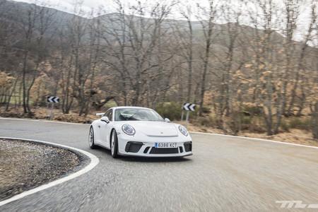 Porsche 911 GT3 en marcha
