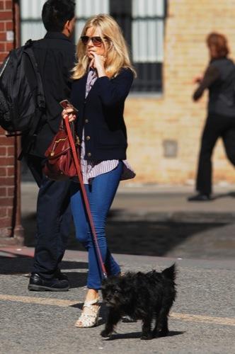 Sal a pasear al perro con estilo, copia a Sienna Miller II