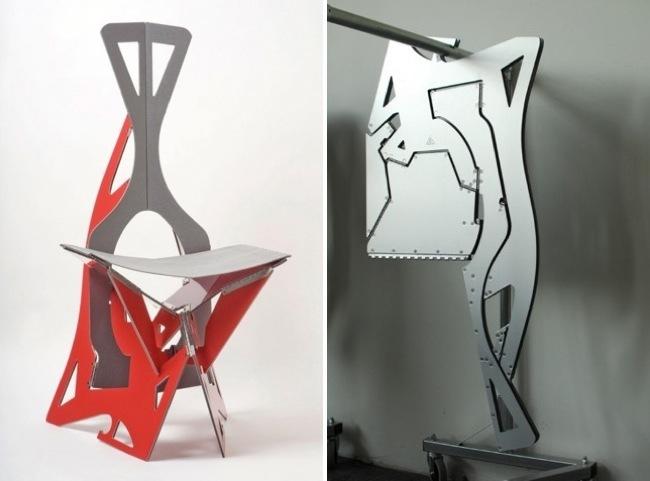 Plegables y para colgar ser n as las sillas del futuro for Sillas plegables diseno