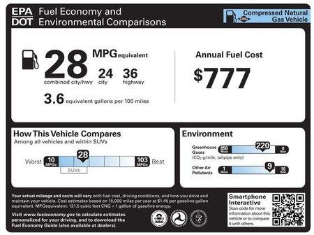 Propuesta etiquetado EPA 2012