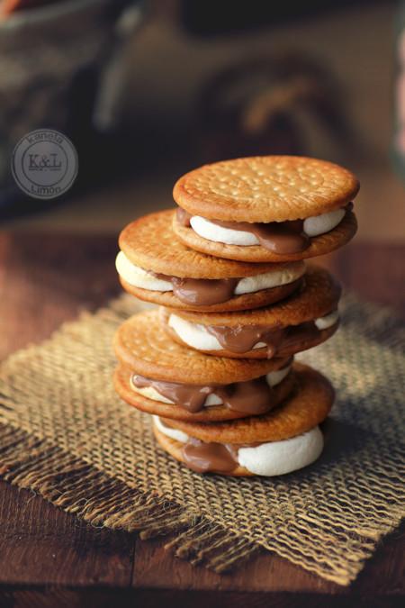 Paseo por la gastronomía de la red: recetas con galletas María