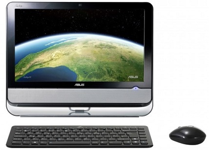 Asus EeeTop ET2002T, con pantalla táctil y Nvidia Ion