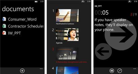 Office Remote, la aplicación para Windows Phone que te ayuda a controlar tus presentaciones