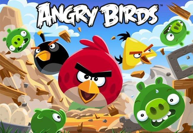 Una imagen promocional de Angry Birds