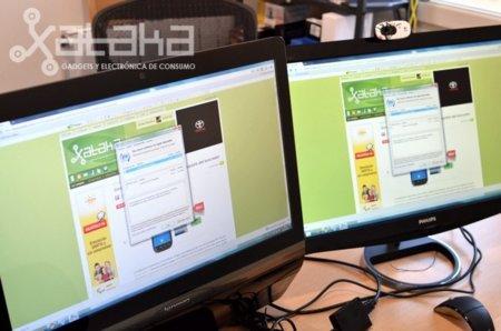 Sensevision pone monitores extra en cada puerto USB, lo probamos