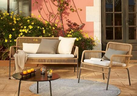 13 sillas, sillones y sofás de exterior bonitos y diferentes para que tu terraza o jardín luzca como nunca