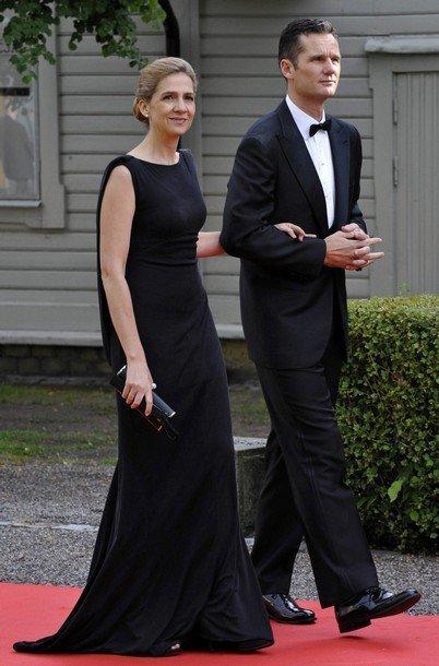 Boda de la Princesa Victoria de Suecia: Infanta Cristina