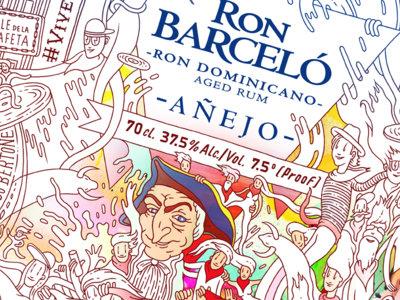 Ron Barceló celebra San Fermín de la mejor manera