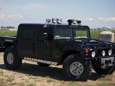 ¡Rebajas de verano! El Hummer H1 de 2Pac Shakur vuelve a salir a subasta por mucho menos dinero