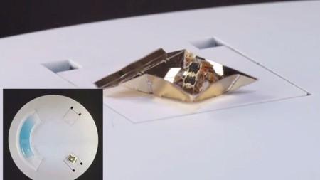 Estos robots 'transformer' usan el arte del origami
