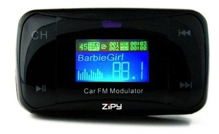 Zipy Silverstone conecta tu música con tu coche