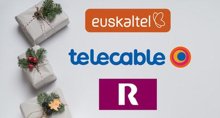 Euskaltel, R y Telecable anuncian su promoción de Navidad: 10 GB adicionales por 1 euro más