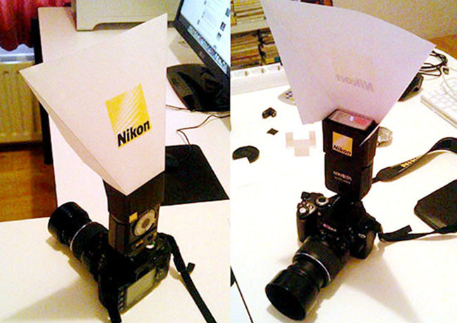 Imprime tu propio difusor para flash Nikon
