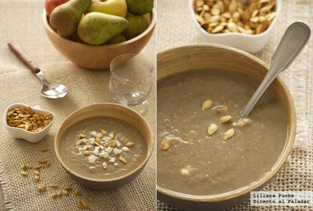 Crema de champiñones y puerros con jengibre: receta reconfortante para las cenas otoñales