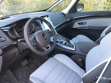 Renault Espace Prueba interior