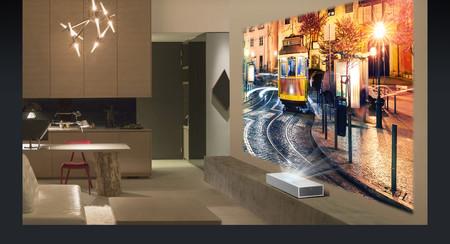 LG pone a la venta el HU85L, su nuevo proyector láser de tiro corto con resolución 4K