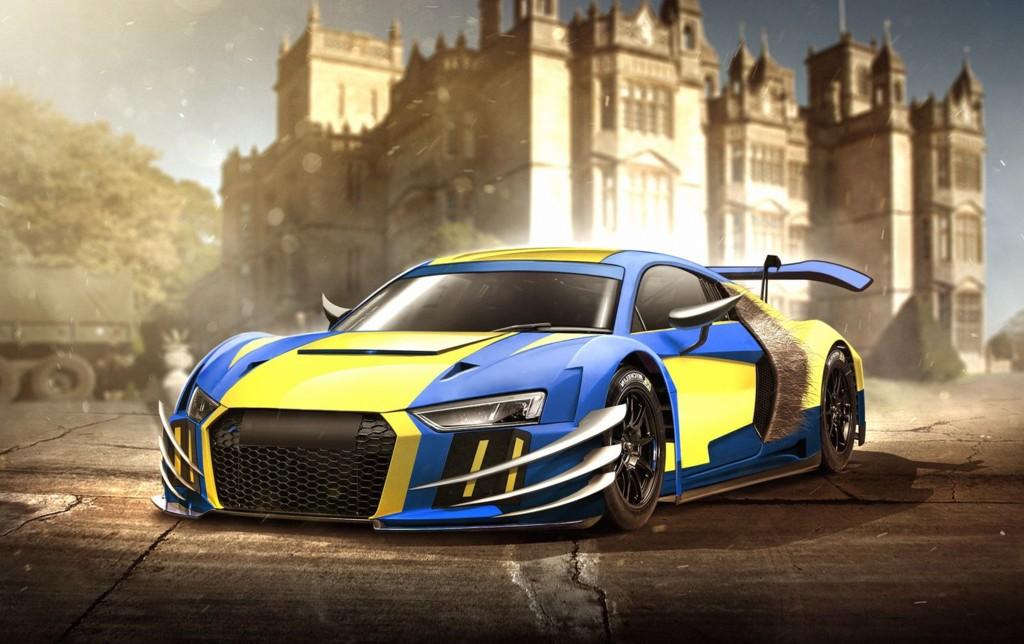El Audi R8 de Lobezno
