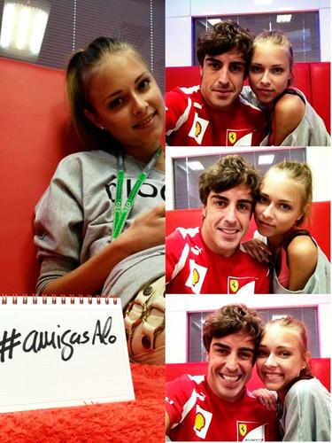 ¿Quién es Dasha Kapustina, la nueva novia de Alonso?