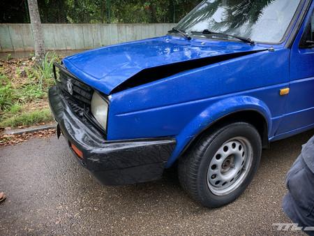 Volkswagen Jetta accidente en Cuba